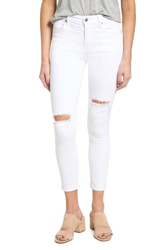 AGOLDE Crop Skinny Jeans