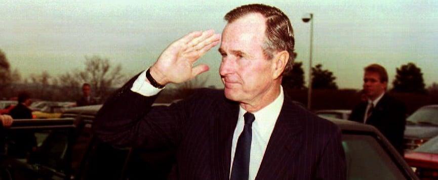 George H.W. Bush Dead