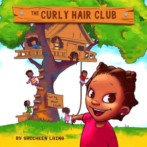 The Curly Hair Club by Saccheen Laing