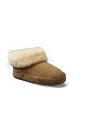 Eddie Bauer Shearling Boot Slippers