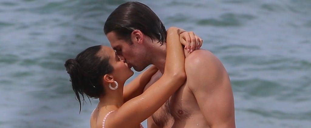 Nina Dobrev and Grant Mellon Kissing in Hawaii August 2019