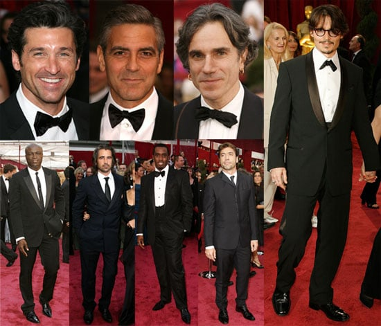 Leading Men Suit Up For the Oscars