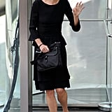 Meg Ryan attened Nora Ephron's memorial service on July 9 in New York.