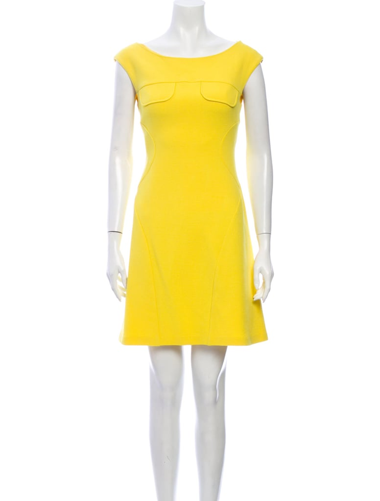 Moschino Vintage Virgin Wool Mini Dress