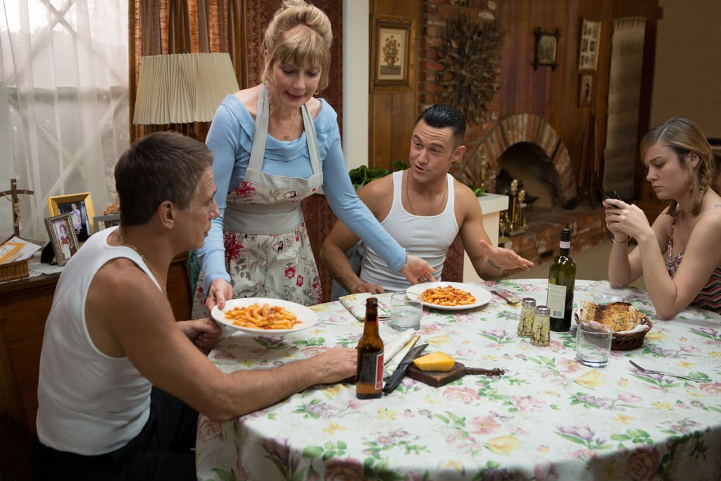 Tony Danza, Glenne Headly, Joseph Gordon-Levitt, and Brie Larson in Don Jon. Source: Relativity Media