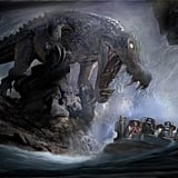 Roaring Rapids Attraction Rendering