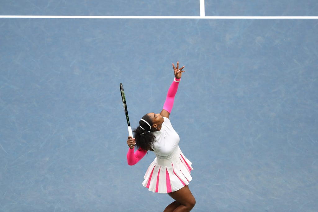 Don't Forget This Pink-and-White Combo Serena Williams Wore at the 2016 US Open