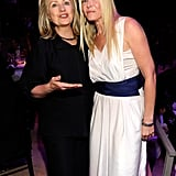 Chelsea Handler and Hillary Clinton linked up at the Time 100 gala in NYC.
