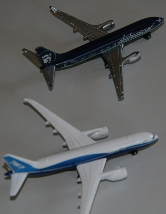 Planes Come in For a Landing