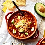 Slow-Cooker Chicken Quinoa Enchilada Soup
