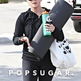 Reese Witherspoon carried a water bottle.