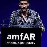 Zayn Malik at amfAR Gala June 2016