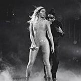 Beyoncé's Also a Fan of the Sheer Bodysuit
