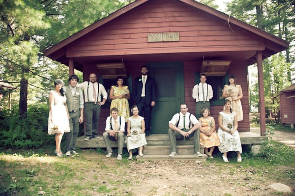 Bridal Party Campers