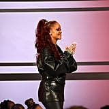 Rihanna Tries Red Hair Again at the BET Awards 2019