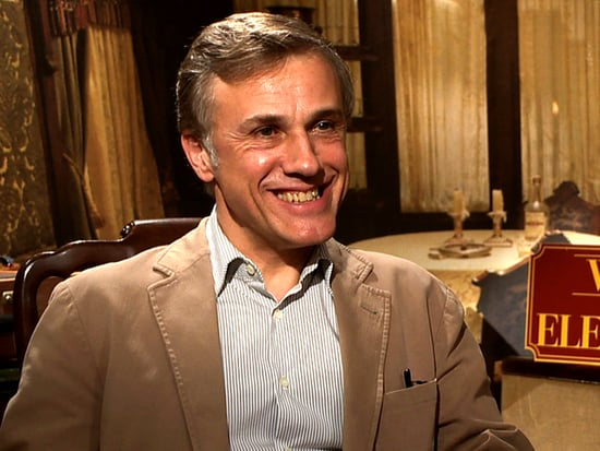 Video: Christoph Waltz on Water For Elephants and Robert Pattinson
