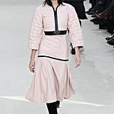 Kendall Walked the Chanel Catwalk in a Pale-Pink Hooded Ensemble