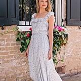 Patricia Button Front Maxi Dress