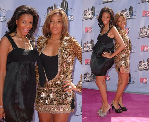MTV Movie Awards: Vanessa and Angela Simmons