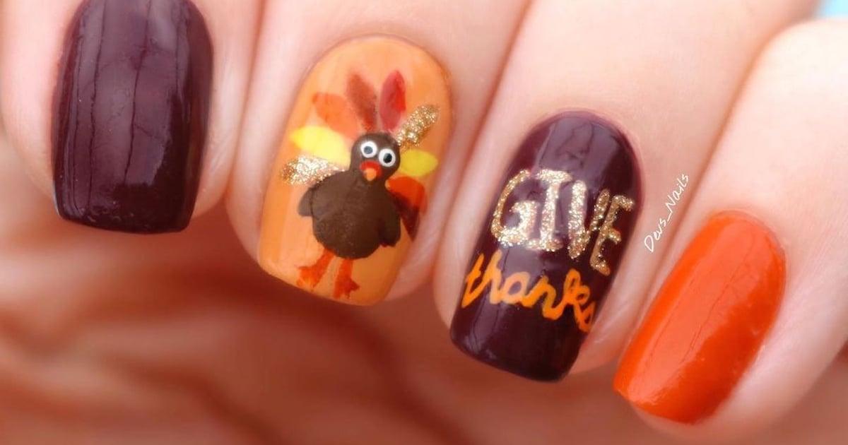 22 Thanksgiving Nail-Art Ideas More Tantalizing Than Pumpkin Pie.jpg