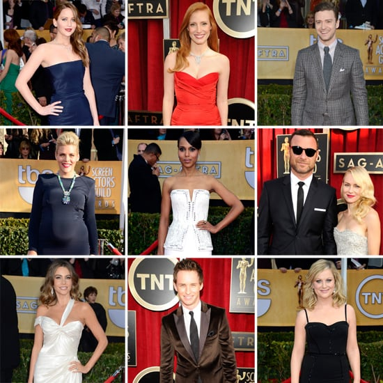 Stars on the Red Carpet at the SAG Awards 2013