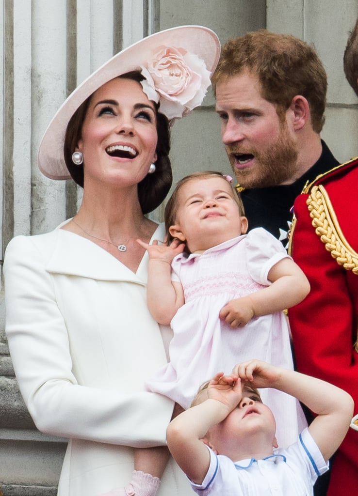 When She Watched the Air Show With George and Charlotte in April 2016