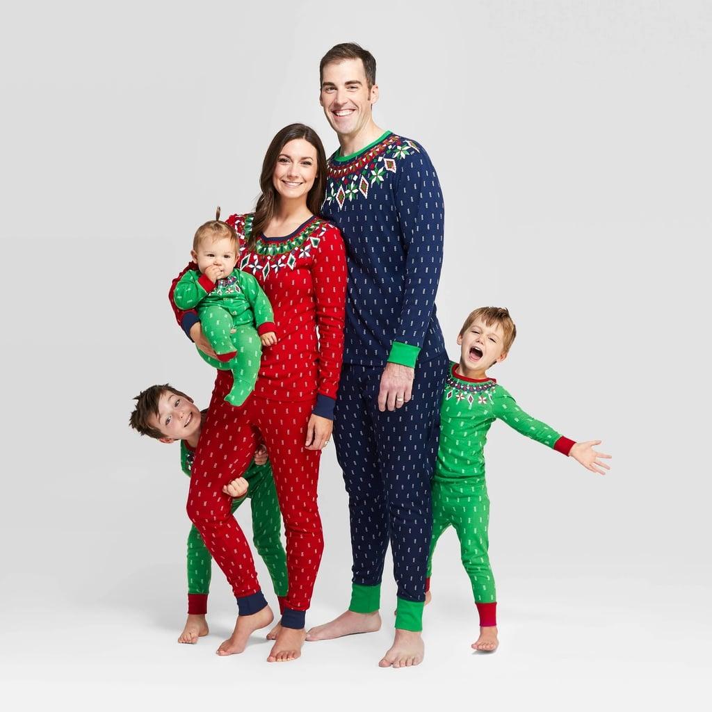 Target Holiday Fairisle Pajama Set