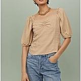 H&M Linen-blend Top
