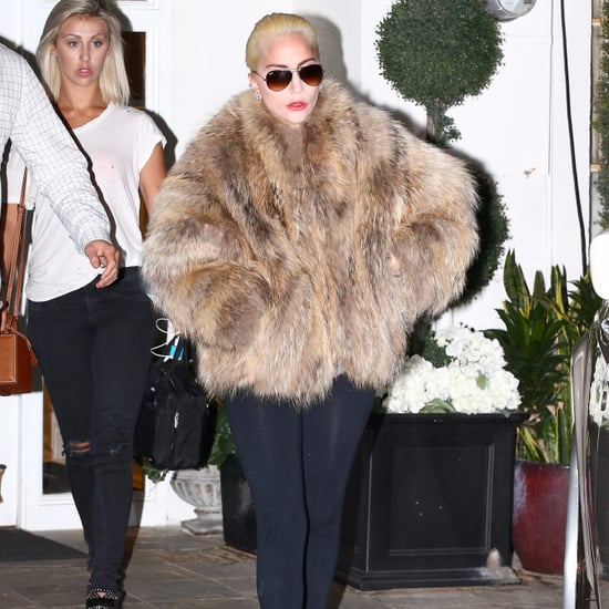 Lady Gaga Out in LA November 2016