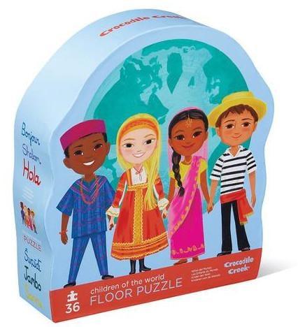 Crocodile Creek Children of the World Floor Puzzle