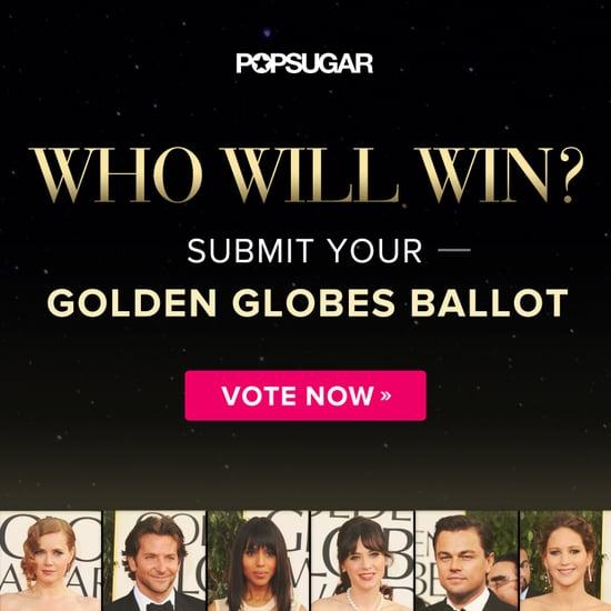 Golden Globe Award Ballot 2014