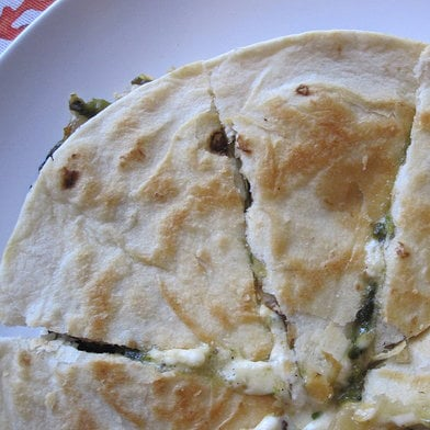 Veggie Quesadilla Recipe 2011-06-29 14:11:44