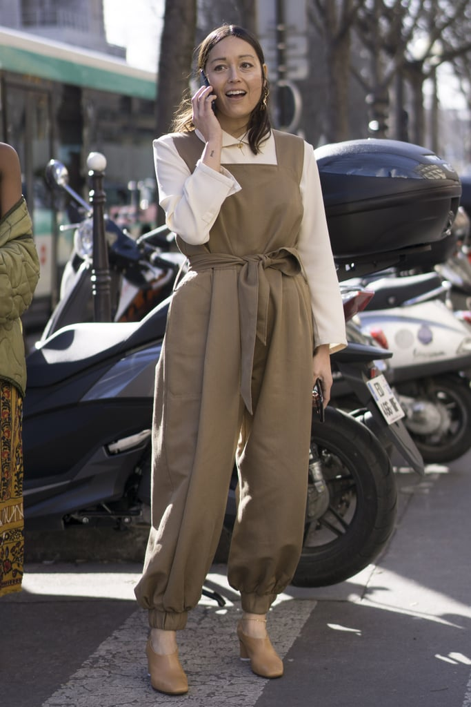 A Tailored Jumpsuit and Blouse