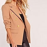 Missguided Military Style Blazer