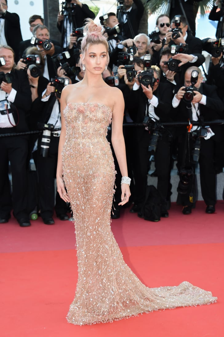 Or Rose Gold And Sheer Like She Did In Cannes What