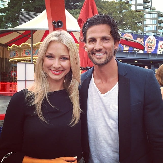 Celeb, Fashion, Fitness Instagram: Tim Robards Anna Heinrich