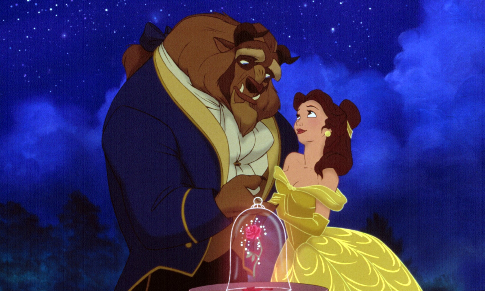 liveaction beauty and the beast character differences