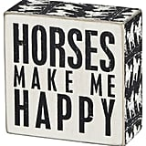 Dot & Bo Horses Wooden Box ($13)