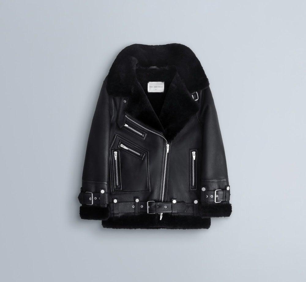 The Arrivals Moya 3 Oversized Shearling Jacket