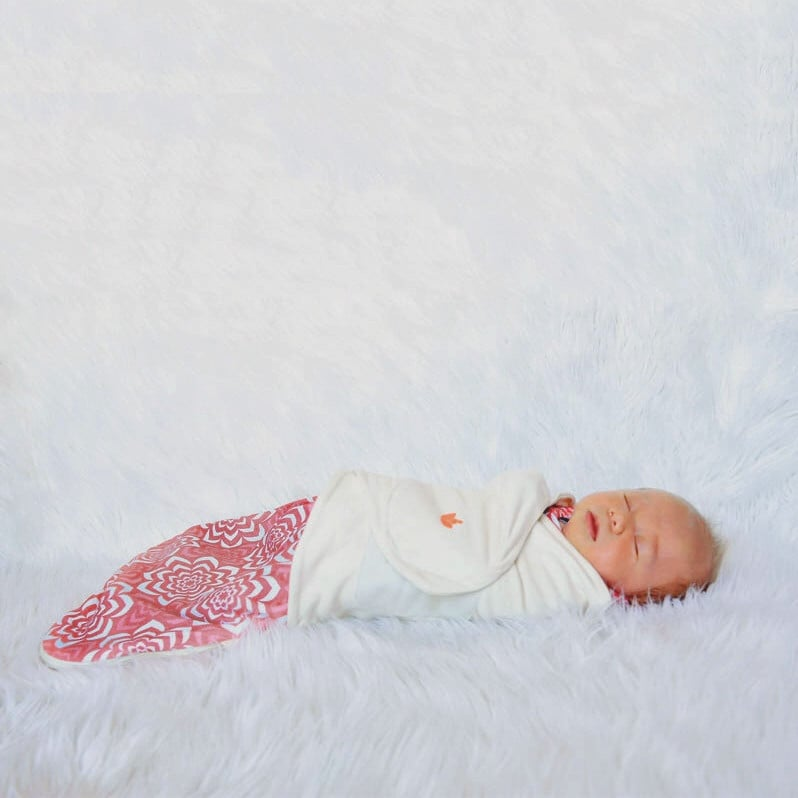 For Infants: Little Lotus Swaddle