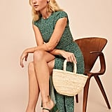 Reformation Straw Market Mini Bag