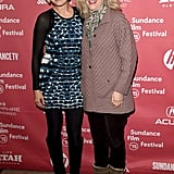 Malin Akerman and Blythe Danner posed together at a premiere.