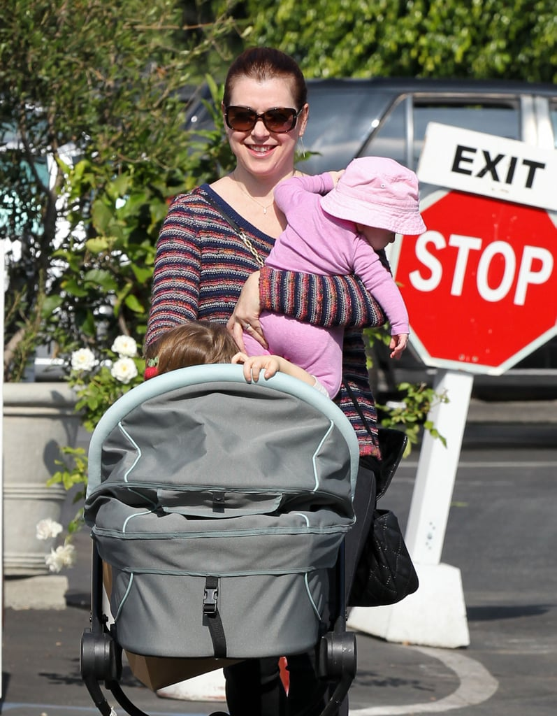 Alyson Hannigan and her husband, Alexis Denisof, welcomed their second daughter, Keeva Denisof, in May.