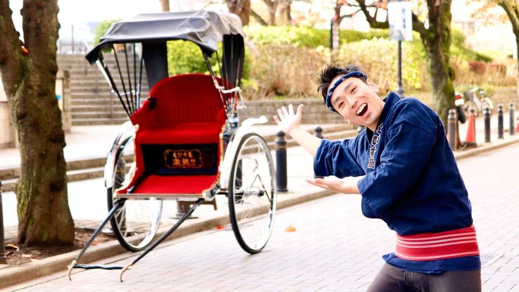 Rickshaw Tour Through Tokyo's Asakusa