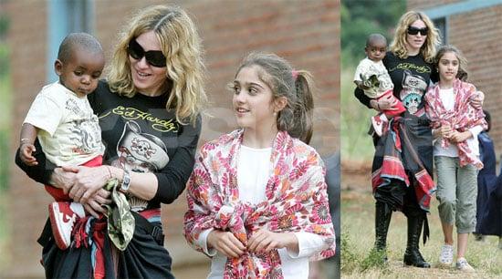 Madonna Inadvertently Employs Makeshift Bodyguards