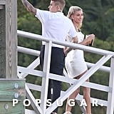 Justin Bieber and Hailey Baldwin's Rehearsal Dinner Photos