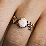 Opal Goddess Ring in 18K