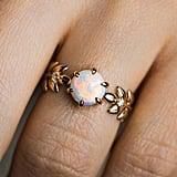 Opal Goddess Ring in 18K