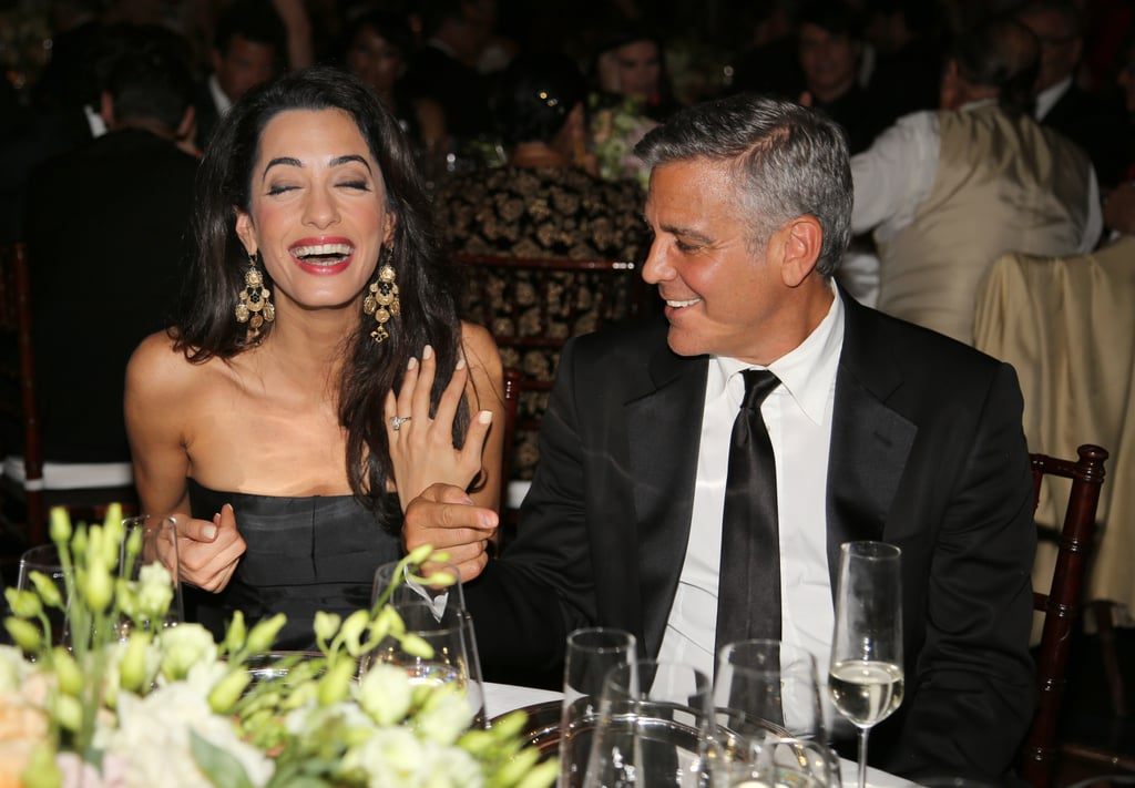 Amal Clooney at Celebrity Fight Night, 2014