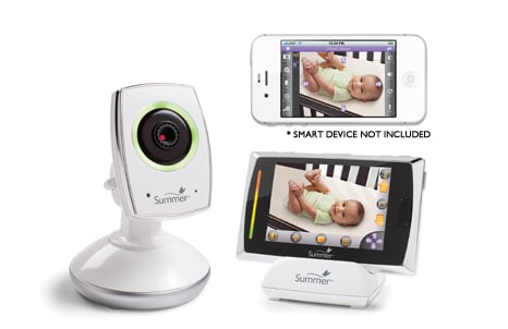Summer Infant Baby Touch WiFi Video Monitor & Internet Viewing System